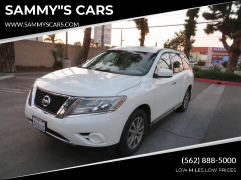 "2015 Nissan Pathfinder for sale at SAMMY""S CARS in Bellflower CA"