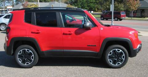2017 Jeep Renegade for sale at The AUTOHAUS LLC in Tomahawk WI