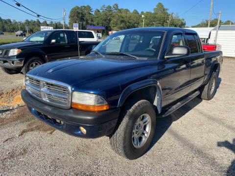 2004 Dodge Dakota for sale at Baileys Truck and Auto Sales in Florence SC