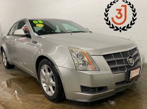 2008 Cadillac CTS for sale at 3 J Auto Sales Inc in Arlington Heights IL