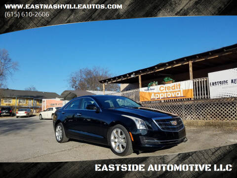 2015 Cadillac ATS for sale at EASTSIDE AUTOMOTIVE LLC in Nashville TN