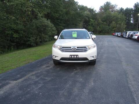 2013 Toyota Highlander for sale at Heritage Truck and Auto Inc. in Londonderry NH
