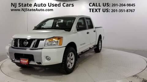 2014 Nissan Titan for sale at NJ State Auto Auction in Jersey City NJ