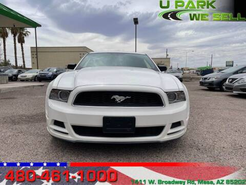 2013 Ford Mustang for sale at UPARK WE SELL AZ in Mesa AZ