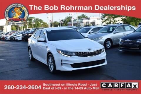 2017 Kia Optima for sale at BOB ROHRMAN FORT WAYNE TOYOTA in Fort Wayne IN