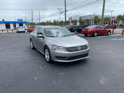 2012 Volkswagen Passat for sale at Sam's Motor Group in Jacksonville FL