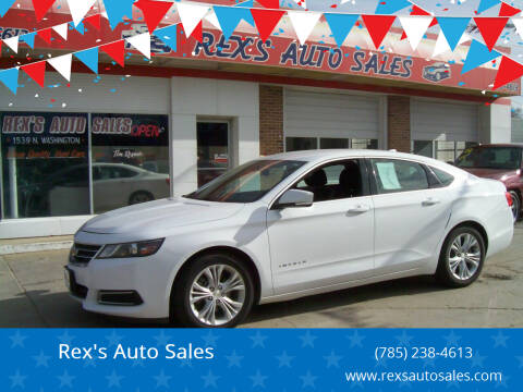 2014 Chevrolet Impala for sale at Rex's Auto Sales in Junction City KS