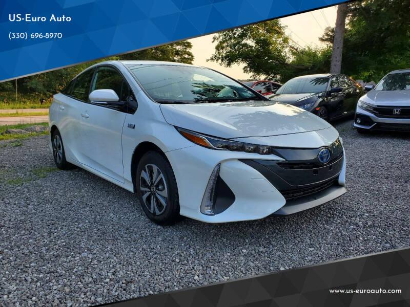 2018 Toyota Prius Prime for sale at US-Euro Auto in Burton OH