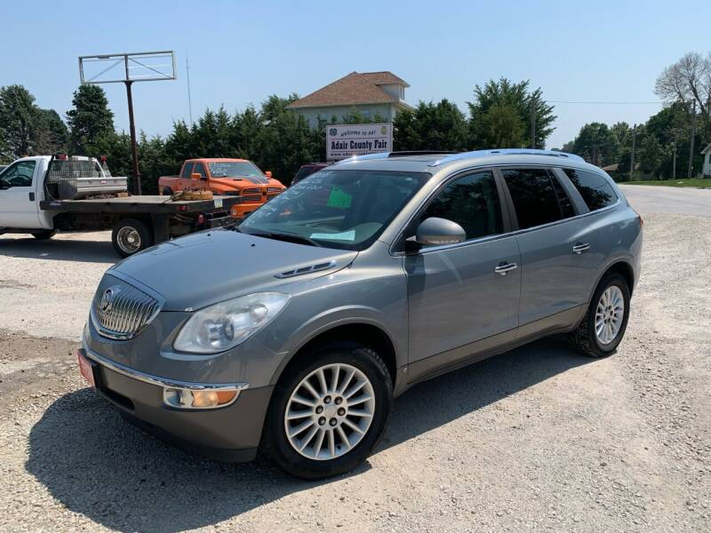 2008 Buick Enclave for sale at GREENFIELD AUTO SALES in Greenfield IA