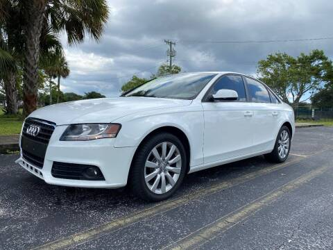 2012 Audi A4 for sale at Lamberti Auto Collection in Plantation FL