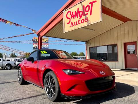 2016 Mazda MX-5 Miata for sale at Sandlot Autos in Tyler TX