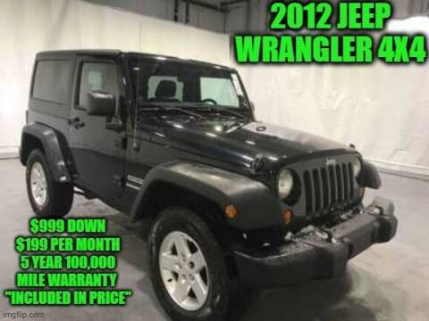 2012 Jeep Wrangler for sale at D&D Auto Sales, LLC in Rowley MA