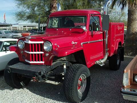 1963 Jeep Grand Cherokee for sale at Collector Car Channel - Desert Gardens Mobile Homes in Quartzsite AZ