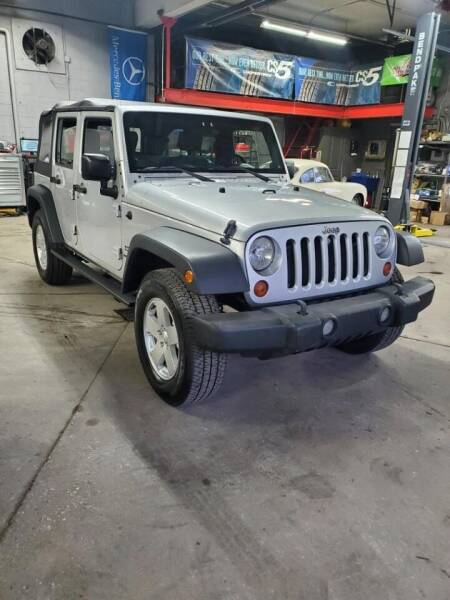 2010 Jeep Wrangler Unlimited for sale at bronxville motors in Bronxville NY