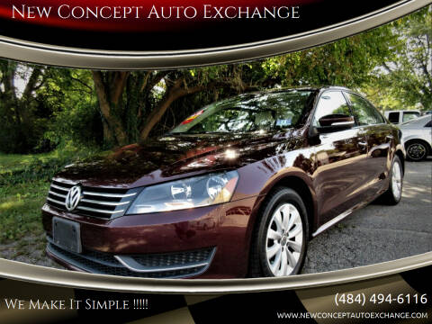 2014 Volkswagen Passat for sale at New Concept Auto Exchange in Glenolden PA