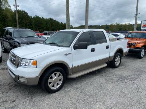 2005 Ford F-150 for sale at Billy Ballew Motorsports in Dawsonville GA