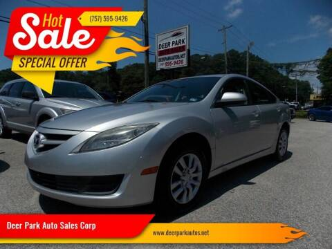 2010 Mazda MAZDA6 for sale at Deer Park Auto Sales Corp in Newport News VA