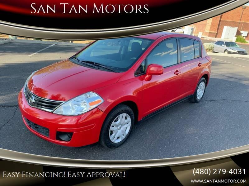 2012 Nissan Versa for sale at San Tan Motors in Queen Creek AZ