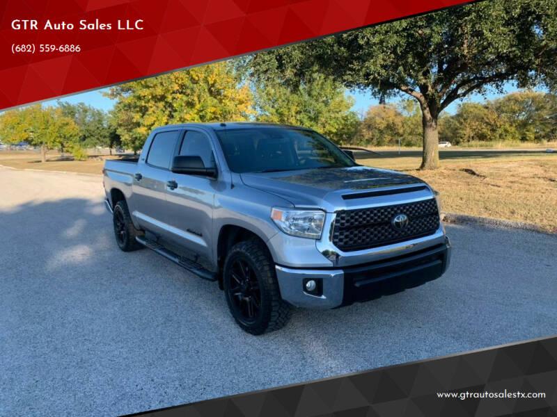 2019 Toyota Tundra for sale at GTR Auto Sales LLC in Haltom City TX