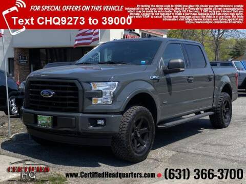 2017 Ford F-150 for sale at CERTIFIED HEADQUARTERS in St James NY