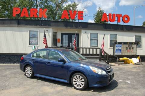 2011 Subaru Legacy for sale at Park Ave Auto Inc. in Worcester MA