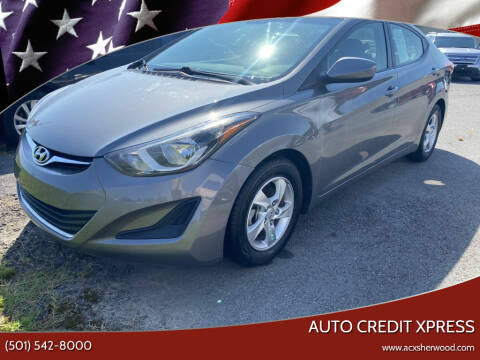 2014 Hyundai Elantra for sale at Auto Credit Xpress in North Little Rock AR