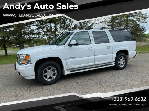 2005 GMC Yukon XL for sale at Andy's Auto Sales in Hibbing MN