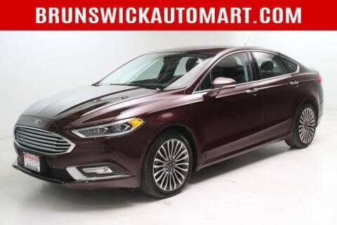 2017 Ford Fusion for sale at Brunswick Auto Mart in Brunswick OH