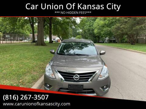 2017 Nissan Versa for sale at Car Union Of Kansas City in Kansas City MO