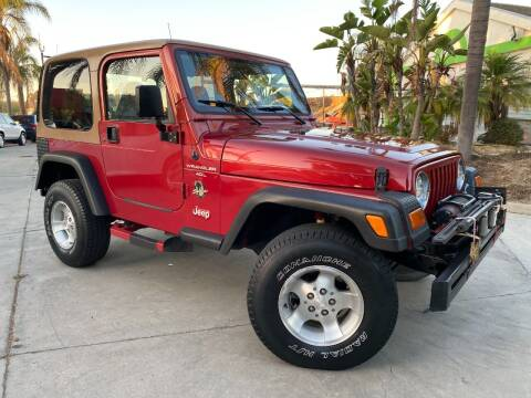 1999 Jeep Wrangler for sale at Luxury Auto Lounge in Costa Mesa CA
