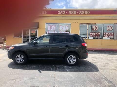 2010 Hyundai Santa Fe for sale at BSS AUTO SALES INC in Eustis FL