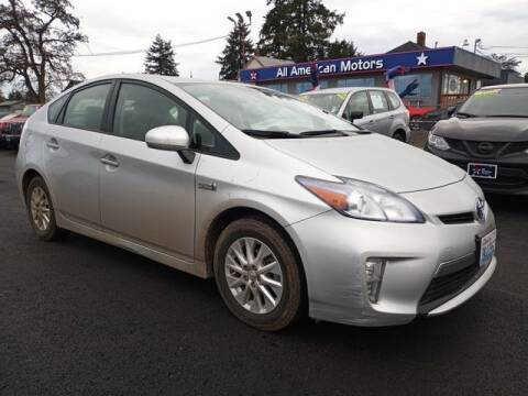 2014 Toyota Prius Plug-in Hybrid for sale at All American Motors in Tacoma WA