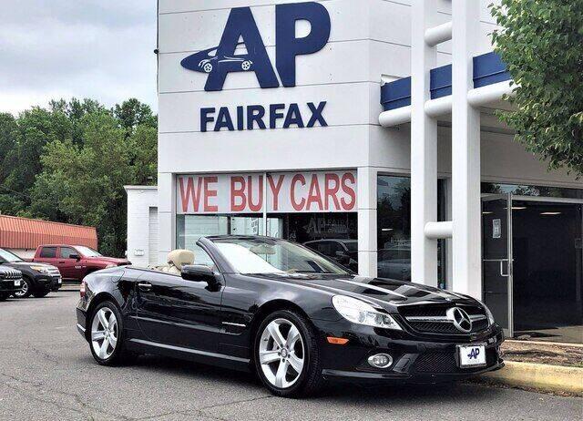 2009 Mercedes-Benz SL-Class for sale at AP Fairfax in Fairfax VA