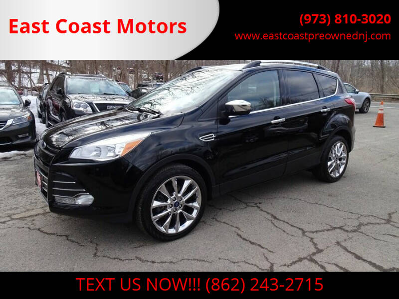 2016 Ford Escape for sale at East Coast Motors in Lake Hopatcong NJ
