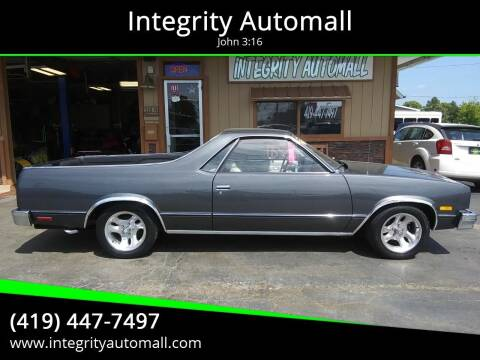 1982 Chevrolet El Camino for sale at Integrity Automall in Tiffin OH