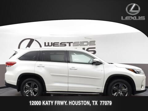 2017 Toyota Highlander Hybrid for sale at LEXUS in Houston TX