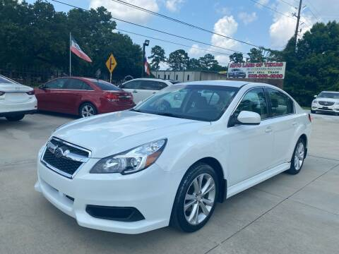 2014 Subaru Legacy for sale at Auto Land Of Texas in Cypress TX