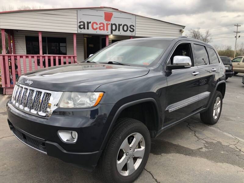 2012 Jeep Grand Cherokee for sale at Arkansas Car Pros in Cabot AR
