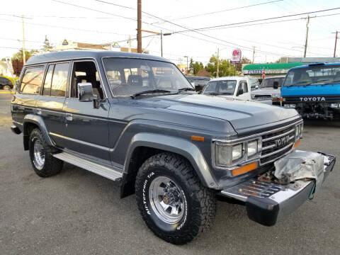 1987 Toyota Landcruiser 60 Turbo Diesel for sale at JDM Car & Motorcycle LLC in Seattle WA