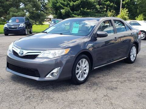 2012 Toyota Camry Hybrid for sale at Thompson Motors in Lapeer MI