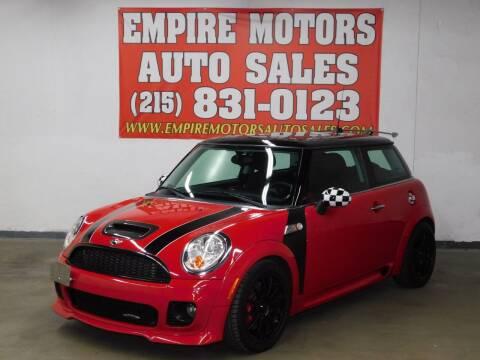 2010 MINI Cooper for sale at EMPIRE MOTORS AUTO SALES in Philadelphia PA
