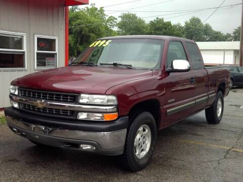 2000 Chevrolet Silverado 1500 for sale at Midwest Auto & Truck 2 LLC in Mansfield OH