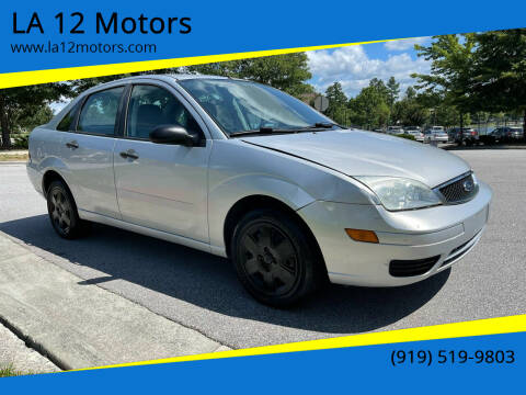 2007 Ford Focus for sale at LA 12 Motors in Durham NC