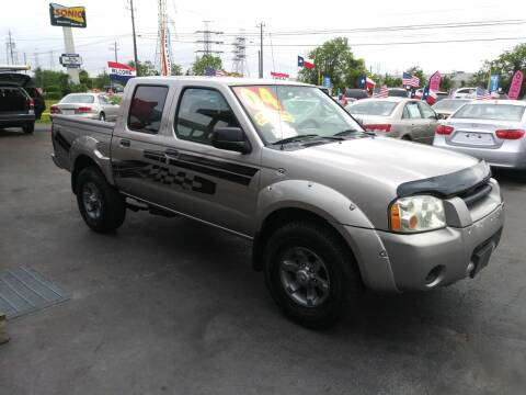 2004 Nissan Frontier for sale at Texas 1 Auto Finance in Kemah TX
