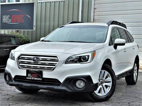 2016 Subaru Outback for sale at Haus of Imports in Lemont IL