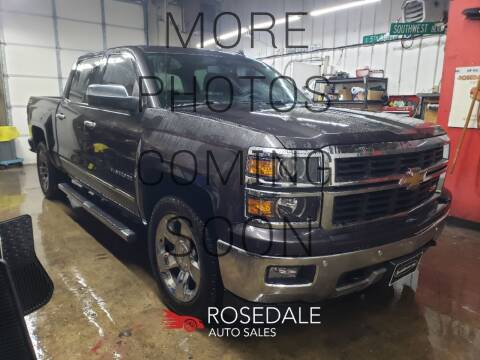 2014 Chevrolet Silverado 1500 for sale at Rosedale Auto Sales Incorporated in Kansas City KS