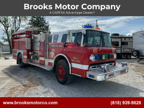 1987 Ford C 8000 FIRETRUCK for sale at Brooks Motor Company in Columbia IL