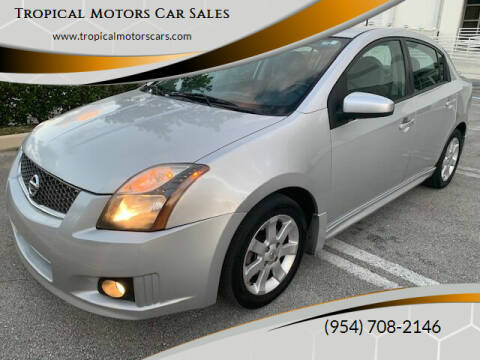 2011 Nissan Sentra for sale at Tropical Motors Car Sales in Deerfield Beach FL