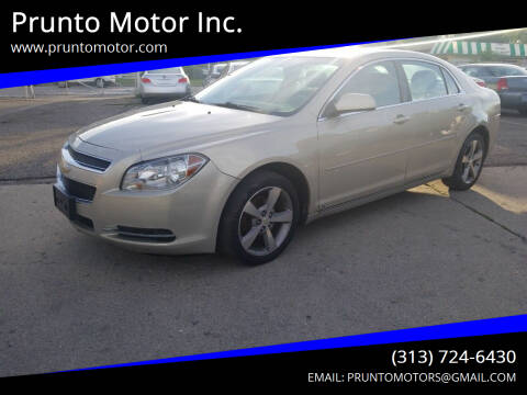 2009 Chevrolet Malibu for sale at Prunto Motor Inc. in Dearborn MI