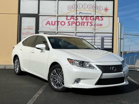 2014 Lexus ES 350 for sale at Las Vegas Auto Sports in Las Vegas NV